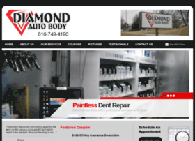 diamondautobodymo.com