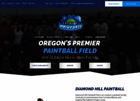 diamondhillpaintball.com