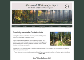 diamondwillowcottages.com