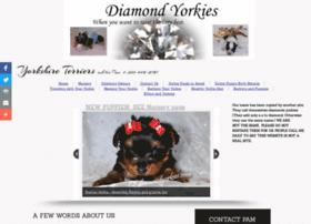 diamondyorkies.com