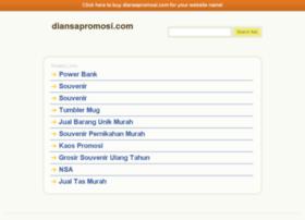 diansapromosi.com