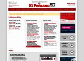 diariooficial.elperuano.pe