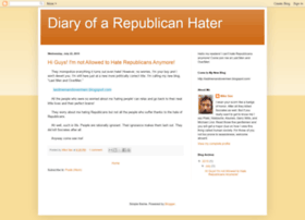 diaryofarepublicanhater.blogspot.in