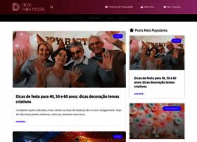 dicasparafestas.com.br