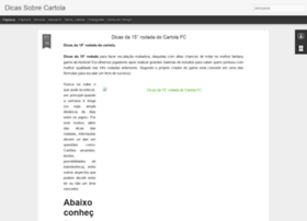 dicassobrecartola.blogspot.com