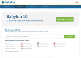 diccionario.babylon.com