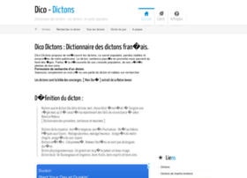 dico-dictons.com