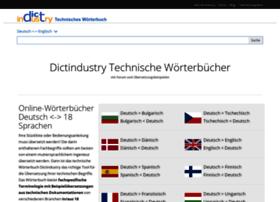 dictindustry.com
