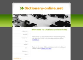 dictionary-online.net