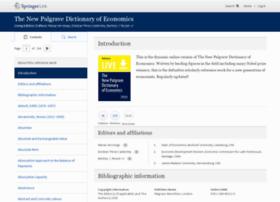 dictionaryofeconomics.com