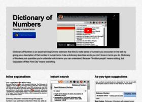 dictionaryofnumbers.com