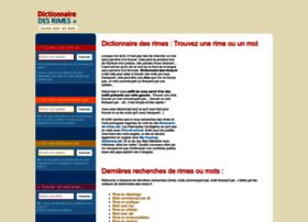 dictionnaire-des-rimes.fr