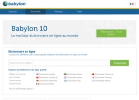 dictionnaire.babylon.com