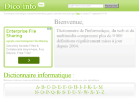 dictionnaire.phpmyvisites.net