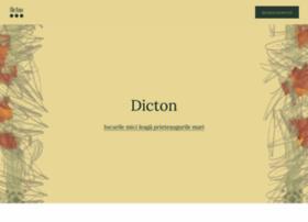 dicton.ro