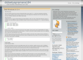 didisetyapramana184.wordpress.com