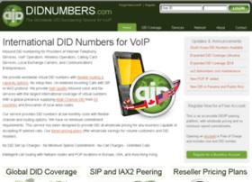 didnumbers.com
