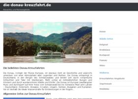 die-donau-kreuzfahrt.de