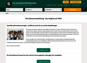 die-zahnarztempfehlung.com