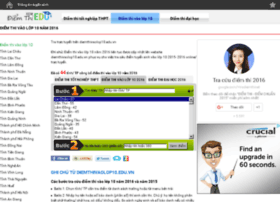 diemthivaolop10.edu.vn