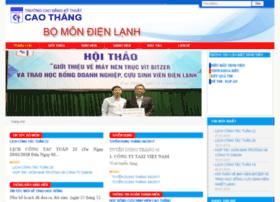 dienlanh.caothang.edu.vn