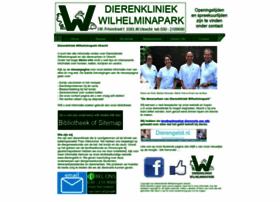 dierenkliniekwilhelminapark.nl