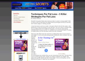 diet4idotsfatloss.com