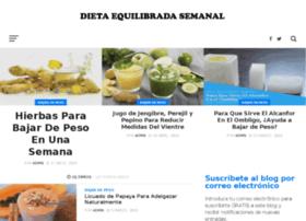 dietaequilibradasemanal.com