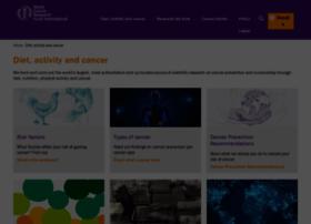dietandcancerreport.org