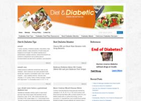 dietanddiabetic.com