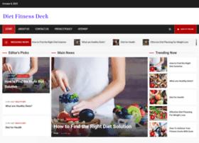 dietfitnessdeck.com