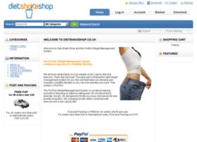 dietshakeshop.co.uk
