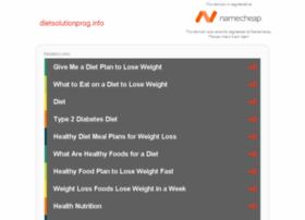 dietsolutionprog.info