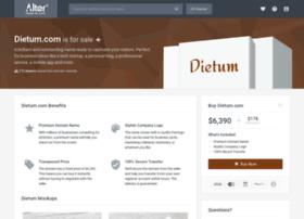 dietum.com