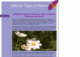 Different Types Of Flowers,