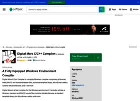 digital-mars-c-c-compiler.en.softonic.com