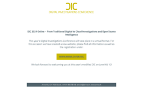 digitalinvestigationsconference.ch