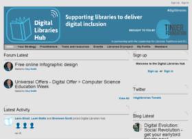 digitallibrarieshub.ning.com