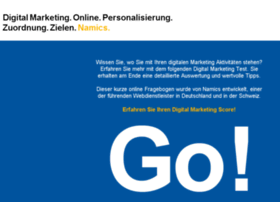 digitalmarketing.namics.com