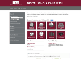 digitalscholarship.tsu.edu