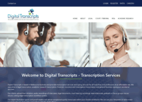 digitaltranscripts.com.au