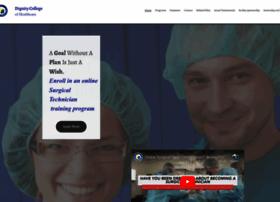 dignitycollegeofhealthcare.com
