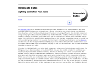 dimmablebulbs.co.uk