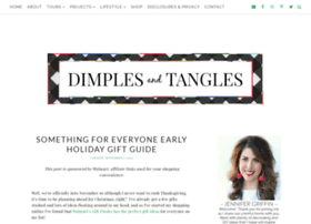 dimplesandtangles.com