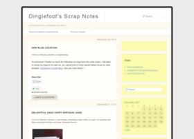 dinglefoot.wordpress.com