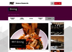 dining.mit.edu