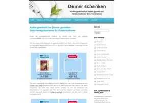 dinner-schenken.de