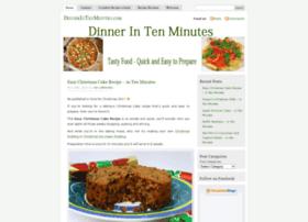 dinnerintenminutes.com