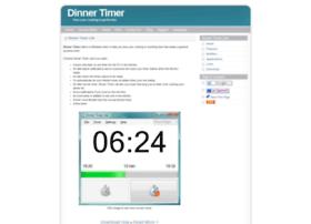 dinnertimer.com