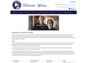 dionysus-winery.com.au